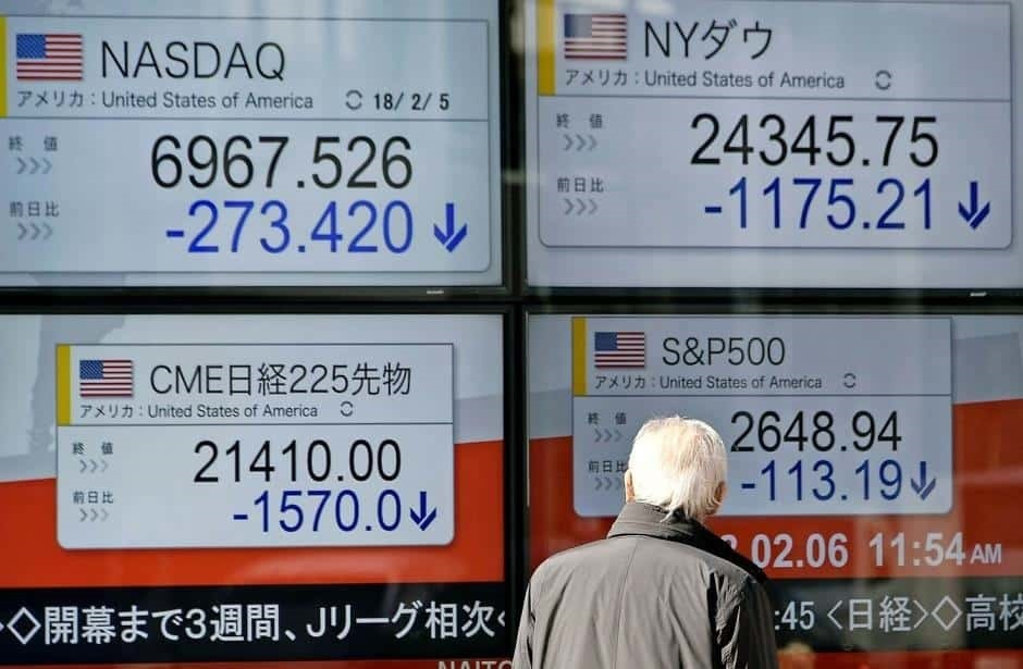 Mercado bursátil sigue inestable tras Wall Street