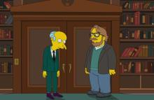 ¡Guillermo del Toro conocerá a Mr. Burns!