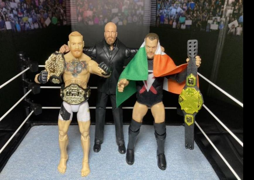 Triple H invitó a McGregor a WWE